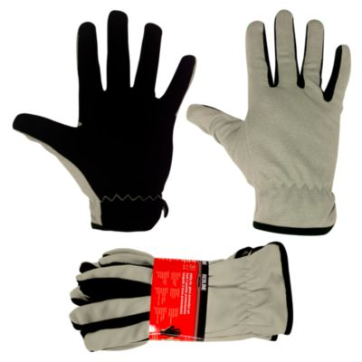 Set de 3 guantes Gris con Negro