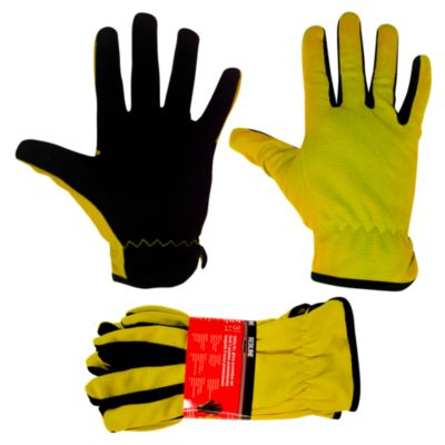 Set de 3 guantes Amarillo con Negro