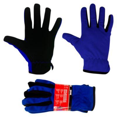 Set de 3 guantes Azul con Negro