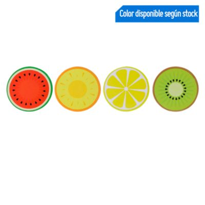 Set 8 Posavasos 9cm Frutas