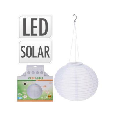 Farol Solar Led 28cm Blanco