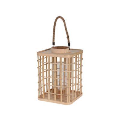 Linterna Bambú 22.5x31.5cm