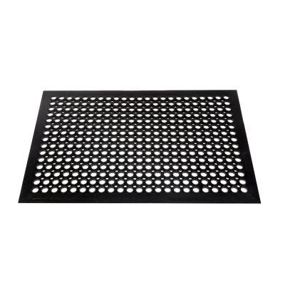 Limpiapiés de Goma 91x152cm Negro