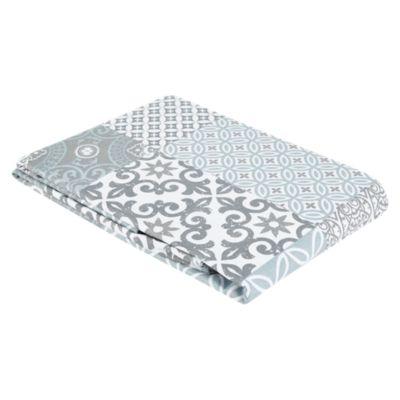 Mantel Mosaico Rectangular 160x230cm Gris