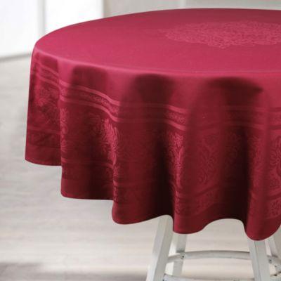 Mantel Redondo 180cm Rojo