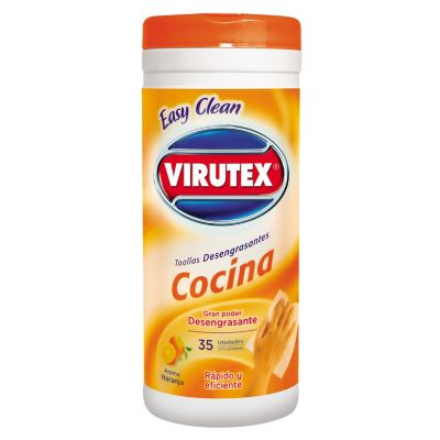 Toallas Húmedas Easy Clean Para Cocina X35