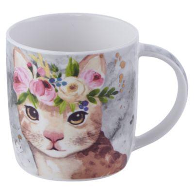 Mug Animales Flor