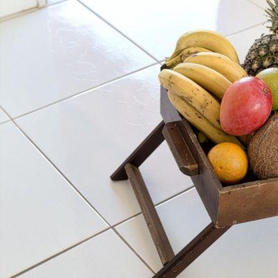 Cerámico Marmoleado Blanco 45x45cm 2.32m2