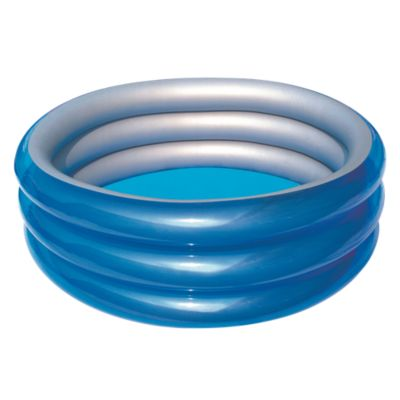 Piscina Inflable 3 Anillos 53x201x201cm