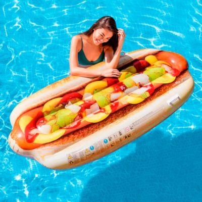Flotador Inflable Hot Dog 180x89cm