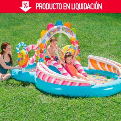 Centro de Juegos Piscina Candy Zone 295x191x130cm
