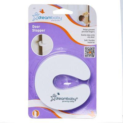 Clip Retenedor para Puertas 10cm Blanco