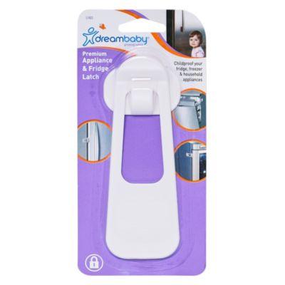 Seguro Protector para Refrigerador 15cm Blanco