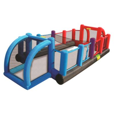 Bouncer Inflable 3 en 1 Futbol, Basket y Voley