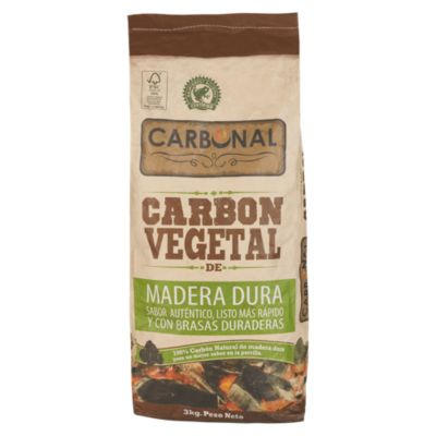 Carbón Vegetal Certificado 3Kg