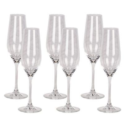 Set de Copas para Champagne 244ml x 6 Unidades