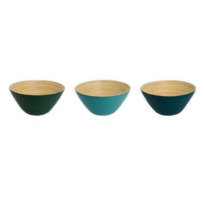 Bowl Bambú Surtido Colores 14cm
