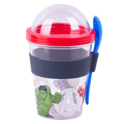 Vaso para Yogurt Avengers