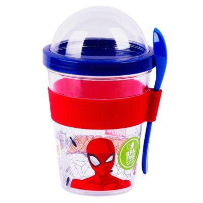 Vaso para Yogurt Spiderman 450ml