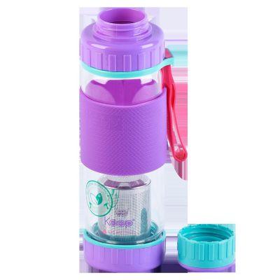 Botella Infusora de Vidrio 410ml