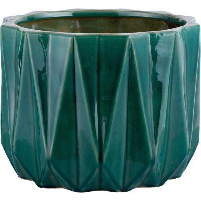 Maceta Nui 33x18cm Verde Jade