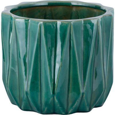 Maceta Nui 26x22cm Verde Jade