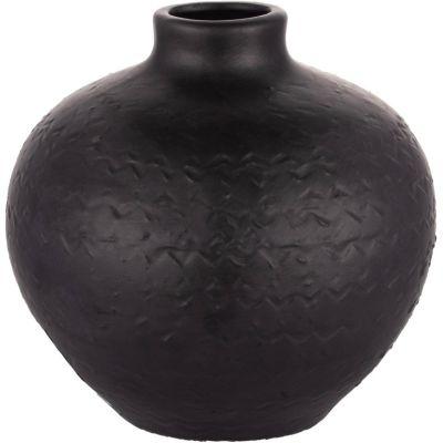 Botella Kiri negro mate 18x18cm