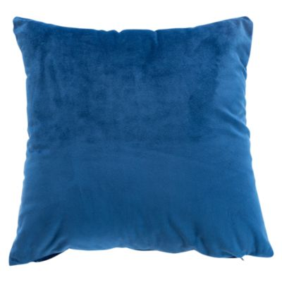 Cojín Velvet 40x40cm Azul