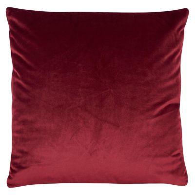 Cojín Velvet 40x40cm Rojo