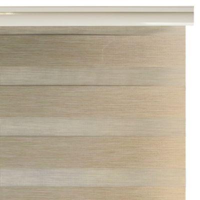 Cortina Enrollable Stripes 100x100cm Blanco