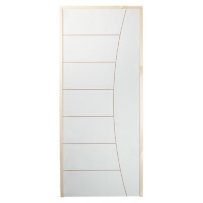 Puerta Interior Bilbao HDF 70 x 207 x 4 Blanca