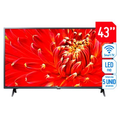 "Televisor LG LED 43"" FHD Smart TV 43LM6300PSB"