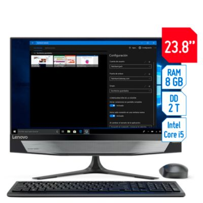 All In One 23.8'' Intel 8G 2TB Led FHD Touch