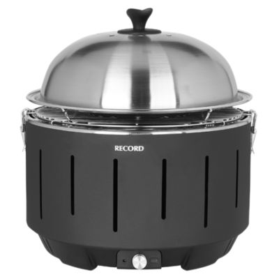 Parrilla Portátil Negro Fast Grill