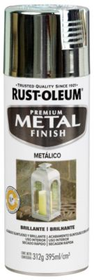 Pintura Decorativa Metal Finish Metálico Cromo 312gr