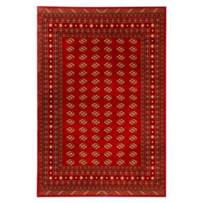 Alfombra Kendra Bocara 67x120 cm Roja
