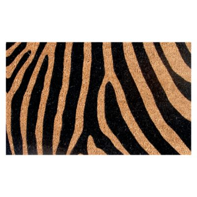 Limpiapiés Zebra 45x75cm