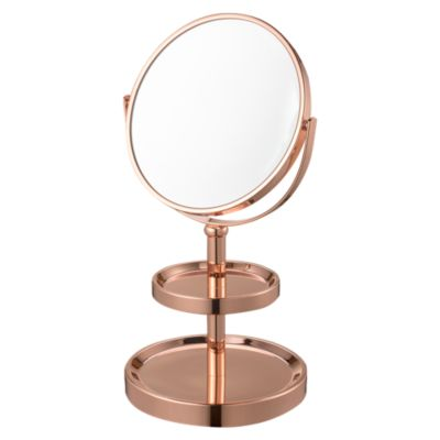 Espejo Cosmético Oro Rosa