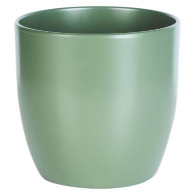 Maceta Basel Verde Musgoso 19cm