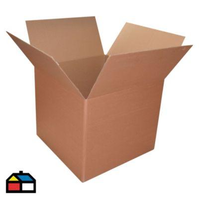 Caja de cartón corrugado 60x60x50 cm