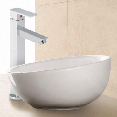 Lavamanos Quadra Monomando 110 Incluye Desagüe Push