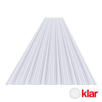 Techo Termoacústico Blanco 1.13 x 3.60m