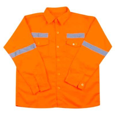 Camisa básico Naranja L