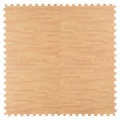Alfombra Puzzle Madera 60x60cm