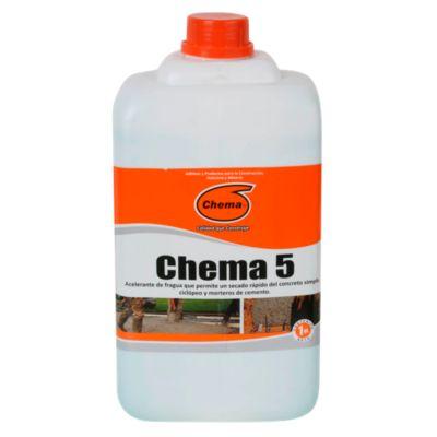 Acelerante Chema 5 x 1 gl