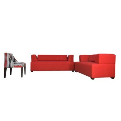 Sala Ariel 3-2 Butaca Rojo