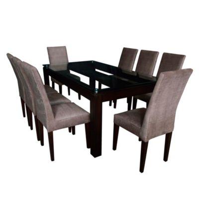 Juego de Comedor Bruno de 8 sillas