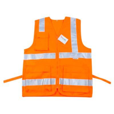 Chaleco Naranja con cinta 3M XL