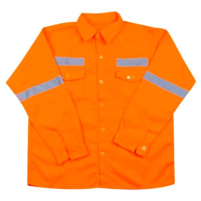 Camisa básico Naranja XL