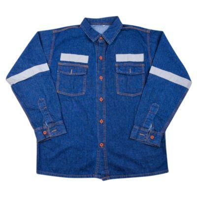 Camisa Jean Lavada 90Nz Talla M
